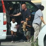 Angelina Jolie takes her kids to play park in Malta 87591