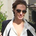 Angelina Jolie shops in Beverly Hills with her twins Knox and Vivienne and Brad Pitt's mother 107632