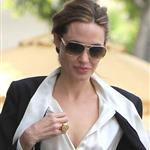 Angelina Jolie shops in Beverly Hills with her twins Knox and Vivienne and Brad Pitt's mother 107637