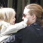 Angelina Jolie shops in Beverly Hills with her twins Knox and Vivienne and Brad Pitt's mother 107646