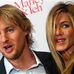 Jennifer Aniston and Owen Wilson in Germany promoting Marley & Me 34085