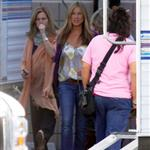 Jennifer Aniston back on the set of The Baster 48416