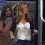 Jennifer Aniston back on the set of The Baster 48418