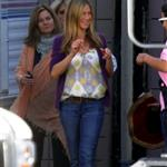 Jennifer Aniston back on the set of The Baster 48419