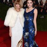 Anna Wintour with Bee Shaffer at the Met Gala 2012   113658
