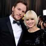 Anna Faris and Chris Pratt at the 84th Annual Academy Awards 107189