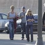 Anna Paquin and Ryan Kwanten on set of True Blood Season 4 86203
