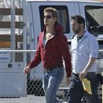 Anna Paquin and Ryan Kwanten on set of True Blood Season 4 86204