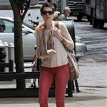 Anne Hathaway seen shopping on Madison Avenue in New York City 116579