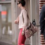 Anne Hathaway seen shopping on Madison Avenue in New York City 116582