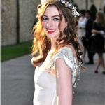 Anne Hathaway at The White Fairy Tale Love Ball at the Chateau de Wideville in Crepieres in France 89398