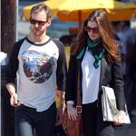 Anne Hathaway and Adam Shulman in Hollywood 96537