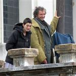 Anne Hathaway and Hugh Jackman film Les Miserables on location in London 111782