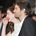 Anne Hathaway and Jim Sturgess at the UK premiere of One Day 92619
