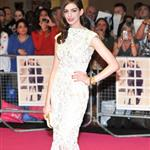 Anne Hathaway at the UK premiere of One Day 92625