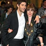 Jim Sturgess at the UK premiere of One Day with girlfriend Mickey  92633