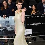 Anne Hathaway at the London premiere of The Dark Knight Rises 121044