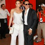 Marc Anthony and Jennifer Lopez at Monday Night Football 48555