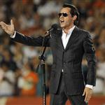 Marc Anthony sings national anthem at Jets vs Dolphins 48562