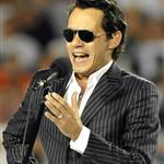 Marc Anthony sings national anthem at Jets vs Dolphins 48564