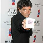 Antonio Banderas and Melanie Griffith at the launch of his fragrance Blue Seduction  22346