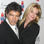 Antonio Banderas and Melanie Griffith at the launch of his fragrance Blue Seduction  22347