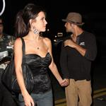 Audrina Partridge leaving Crown Bar hand in hand with Justin Bobby 25236
