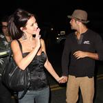 Audrina Partridge leaving Crown Bar hand in hand with Justin Bobby 25237