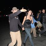 Audrina Partridge leaving Crown Bar hand in hand with Justin Bobby 25238