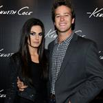 Armie Hammer and wife Elizabeth Chambers at Kenneth Cole store opening  74659