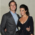 Armie Hammer and his wife at Giorgio Armani Vanity Fair Private Dinner 96156