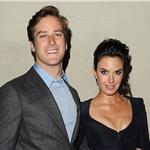 Armie Hammer and his wife at Giorgio Armani Vanity Fair Private Dinner 96158