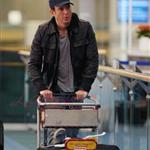 Will Arnett arrives in Vancouver 58702