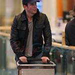 Will Arnett arrives in Vancouver 58704