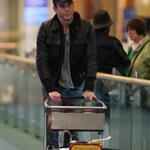 Will Arnett arrives in Vancouver 58705