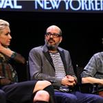 Portia De Rossi, David Cross and Michael Cera attend The 2011 New Yorker Festival: Arrested Development Panel 95409