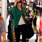 Ashlee Simpson shopping yesterday in Studio City 49236