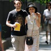 Ashlee Simpson gets intimate in New York with new boyfriend Vincent Piazza 88253