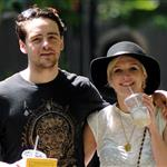 Ashlee Simpson gets intimate in New York with new boyfriend Vincent Piazza 88254