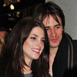 Ashley Greene and Reeve Carney at the tree lighting ceremony in NYC 99595