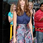 "Ashley Greene posing for photographs after her appearance at ""Good Afternoon America"" in New York City 124241"