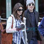 Ashley Green and Jackson Rathbone in Vancouver preparing for New Moon 34727