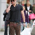 Kellan Lutz and Ashley Green went out to eat and hit H&M together 36724