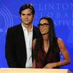 Demi Moore Ashton Kutcher at Clinton Global Initiative amid cheating allegations 69383
