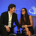 Demi Moore Ashton Kutcher at Clinton Global Initiative amid cheating allegations 69384