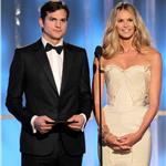 Ashton Kutcher and Elle Macpherson at the 2012 Golden Globe Awards 102781