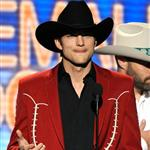 Ashton Kutcher at the 47th Annual Academy Of Country Music Award 110269