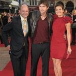 Ashton Kutcher Lake Bell London premiere of What Happens in Vegas 19672