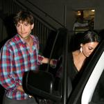 Ashton Kutcher and Mila Kunis leave Duplex Restaurant in West Hollywood 121835