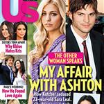Ashton Kutcher and Sara Leal cover US Weekly  96126